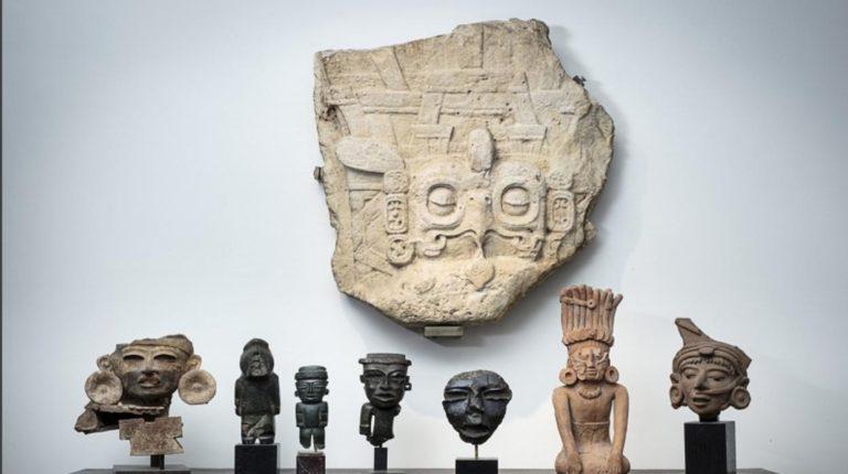 México pide suspender subasta de piezas prehispánicas