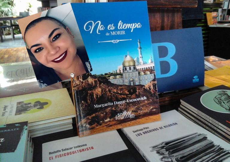Ecuatoriana con importantes reconocimientos