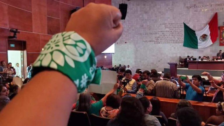 Oaxaca da luz verde al aborto