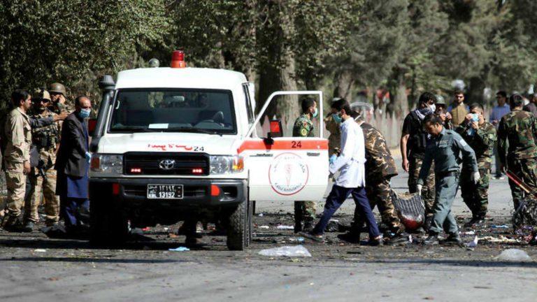 Doble atentado bomba del talibán dejó 48 muertos