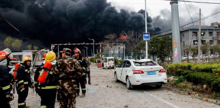 ¡Tragedia! 19 muertos en incendio en fábrica en China