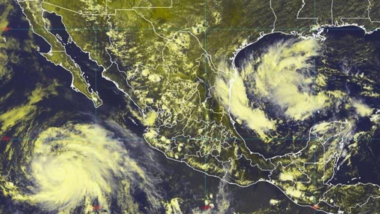 Juliette: Otro huracán avanza en aguas del Pacífico