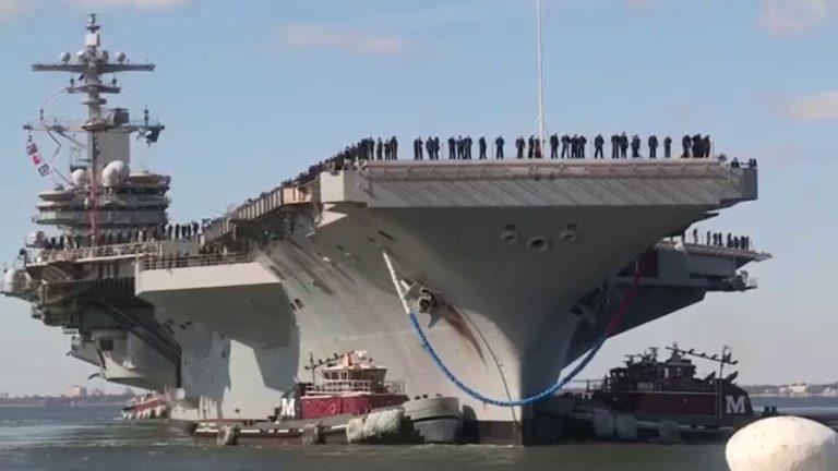 Se suicidaron 4 marineros de un mismo portaaviones