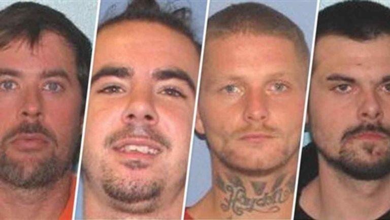 Detenidos en Carolina del Norte presos fugados en Ohio
