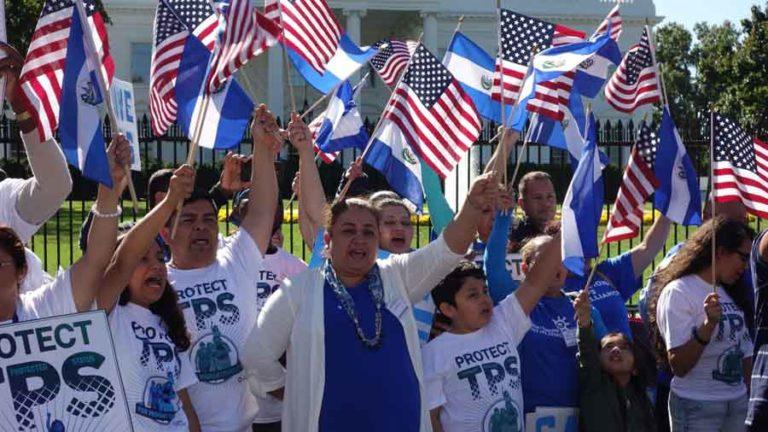 TPS para salvadoreños seguirá vigente hasta enero