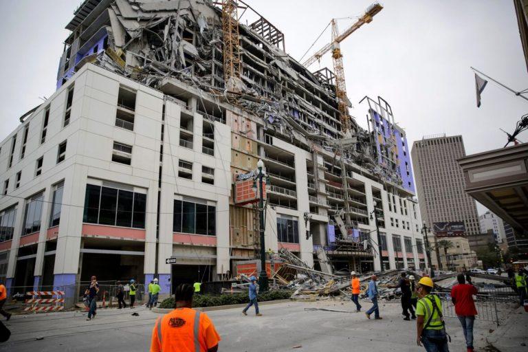 Derribarán grúas de construcción del Hard Rock Hotel