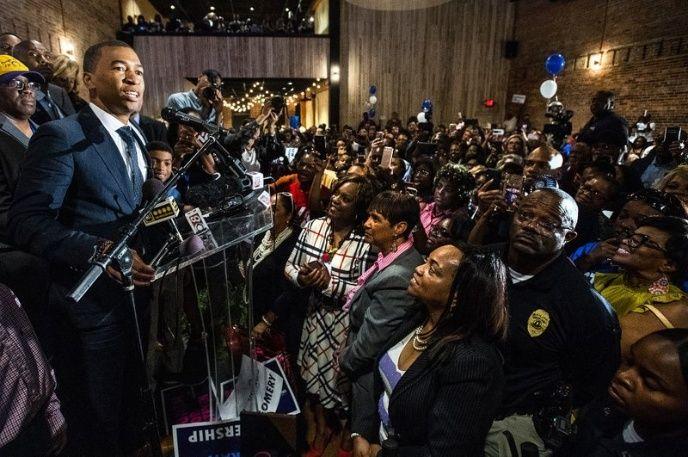 Steven Reed primer alcalde afro de Montgomery