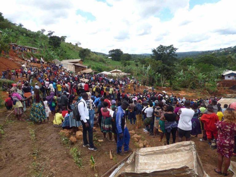 ¡Tragedia! Un alud dejó 42 muertos en Camerún