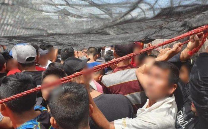 México: Dos camiones transportaban a 243 migrantes