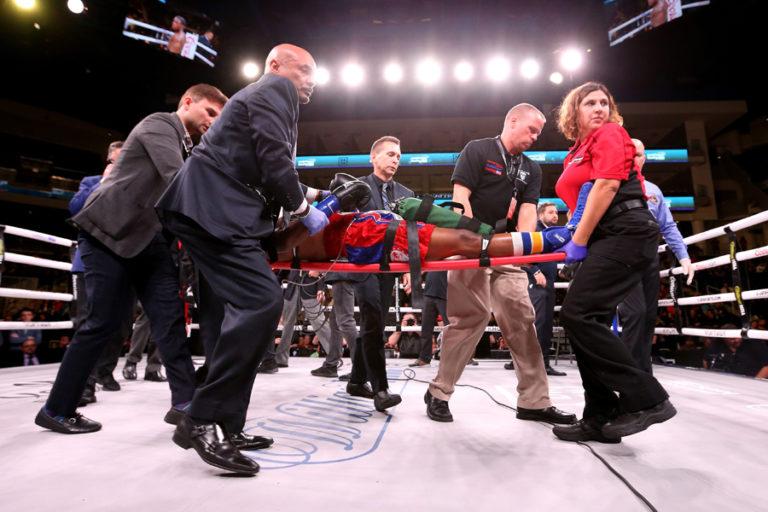 Tras ser noqueado murió el boxeador Patrick Day