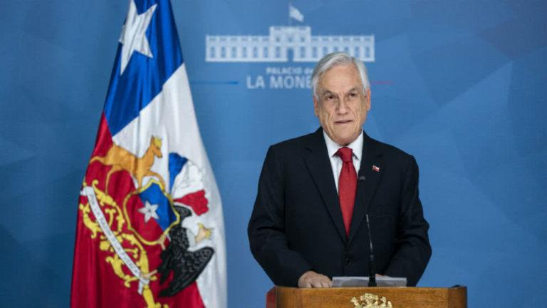 "Piñera pidió perdón a Chile por su ""falta de visión"""