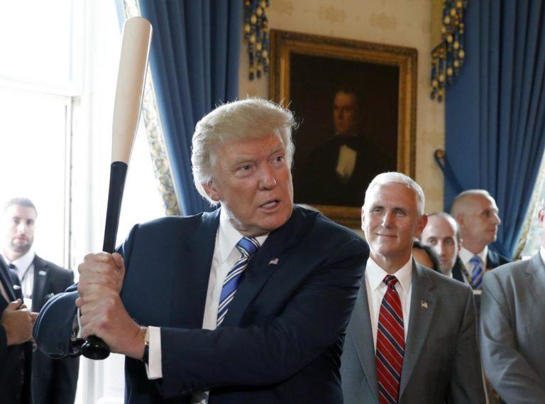 ¿Cómo le irá? Trump quiere asistir a la Serie Mundial