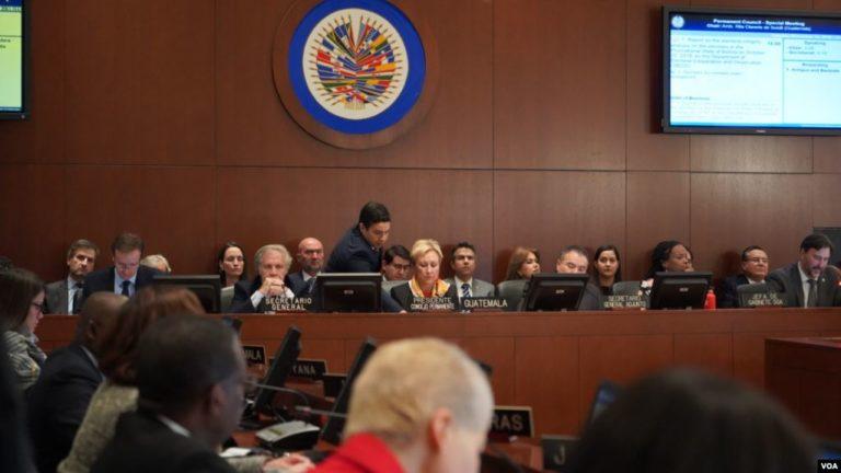 OEA llama a nuevas elecciones en Bolivia
