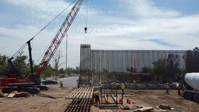 Piden acelerar fallo que podría frenar construcción del muro