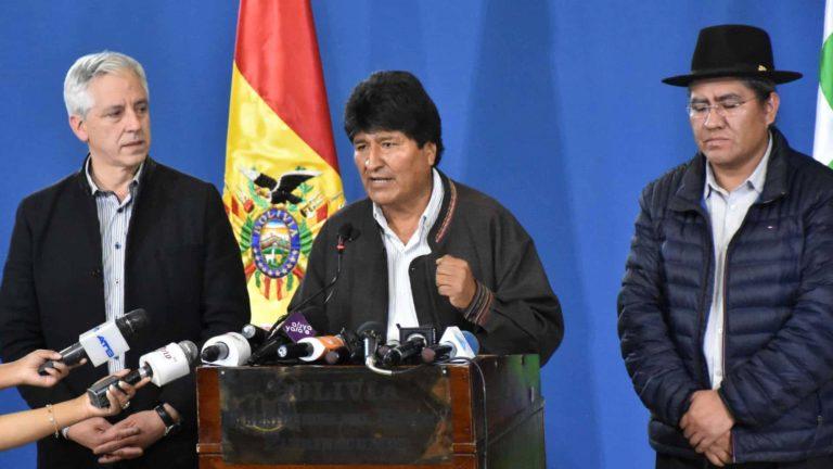 ¡Renunció Evo! Abandonó La Paz y se dirigió a Cochabamba