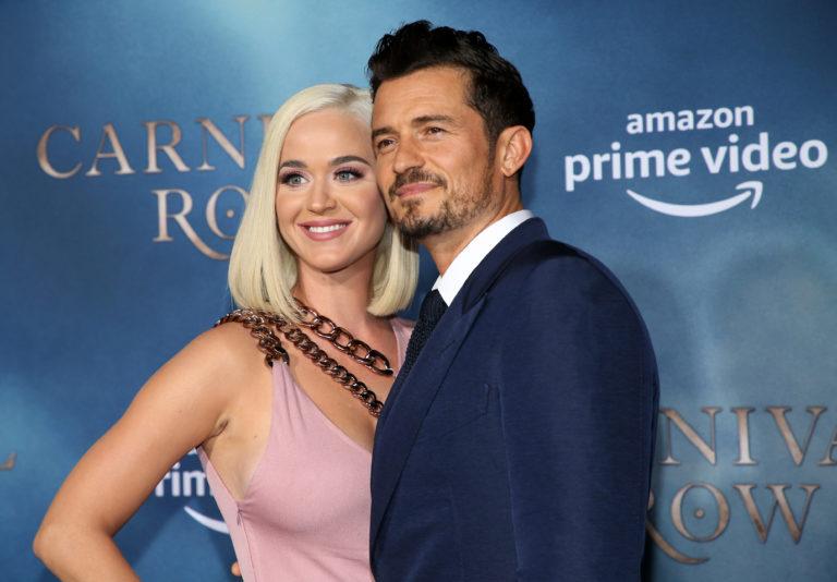 Katy Perry presume su relación con Orlando Bloom