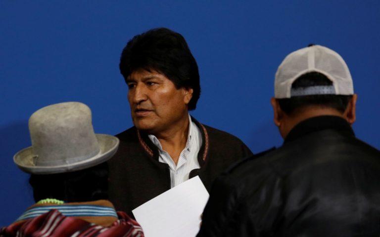 Ejecutivo boliviano amenazó con vetar amnistía a Morales