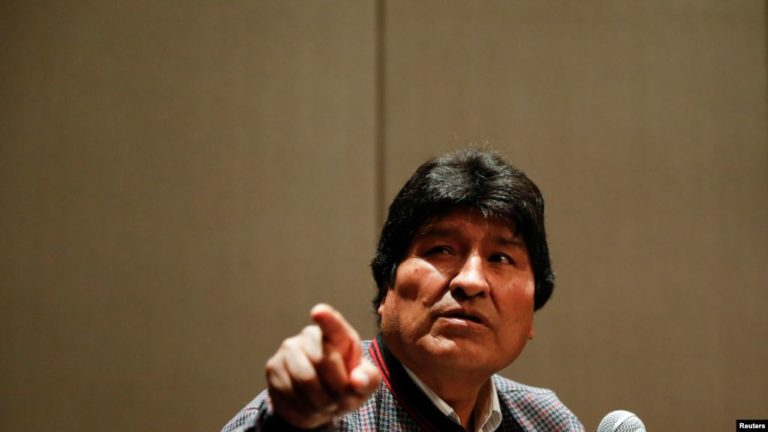 Eurocámara denunció intento de fraude electoral en Bolivia