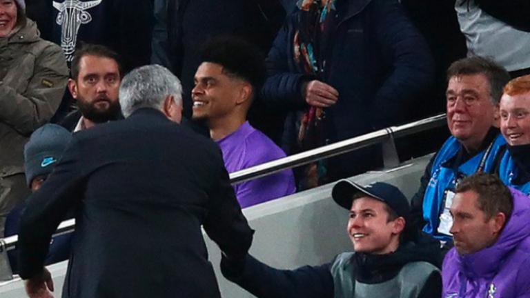 "Mourinho ""hizo el día"" de recogepelotas del Tottenham"