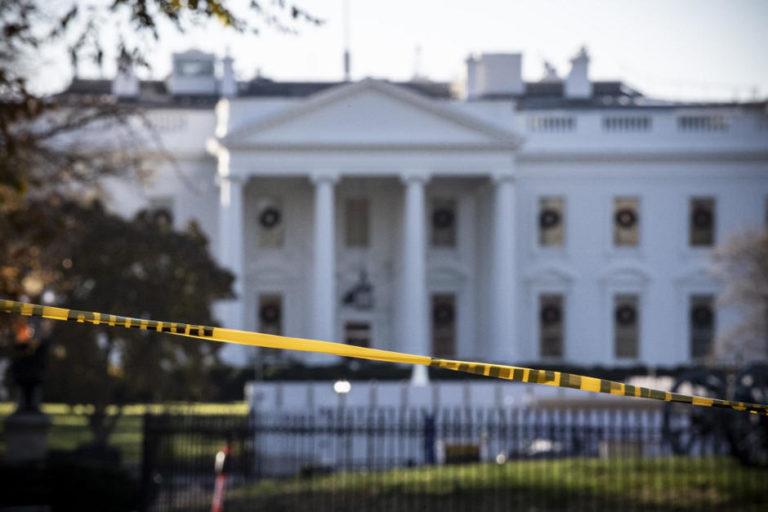 Cerraron la Casa Blanca por aeronave sospechosa en Washington
