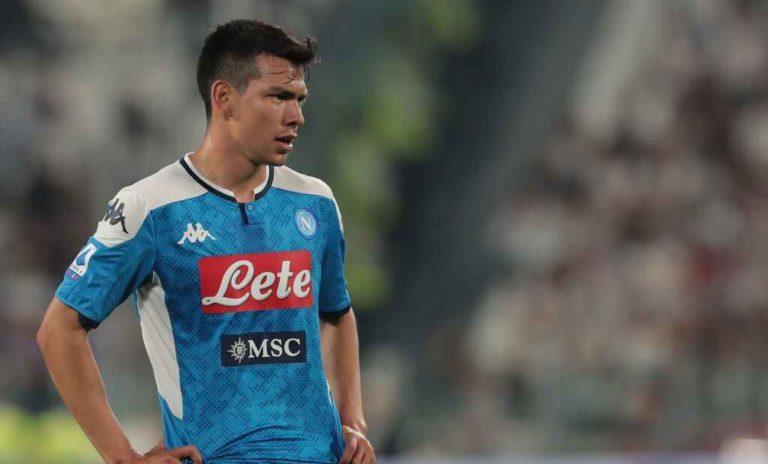 Lozano y jugadores del Napoli multados por motín interno
