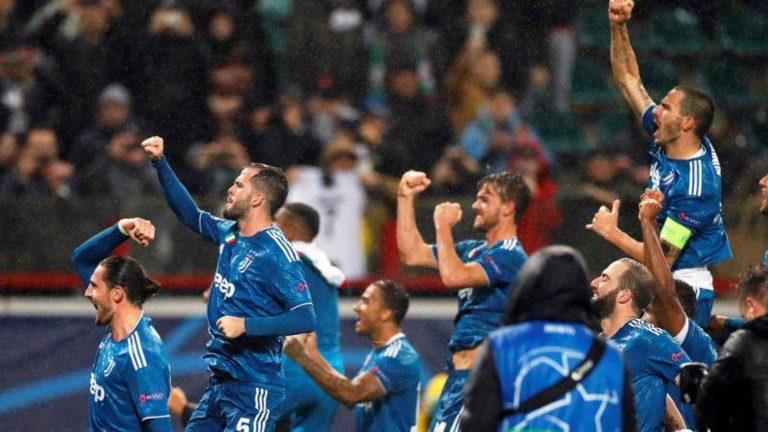 Champions League: Juventus pasa a 8vos y CR7 se enfada con el DT