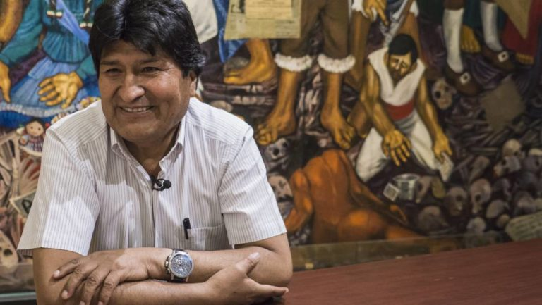 Evo está dispuesto a volver a Bolivia sin ser candidato