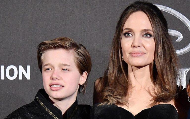 Hija de Jolie y Pitt cambia de nombre, ahora será John