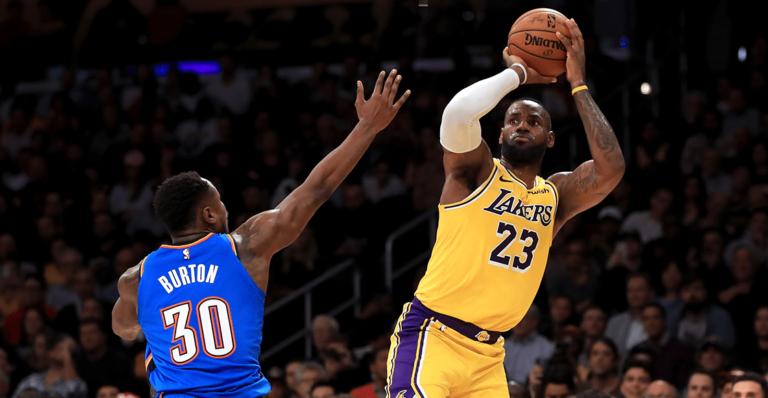 ¡Ni Jordan! LeBron James instauró nueva marca en NBA