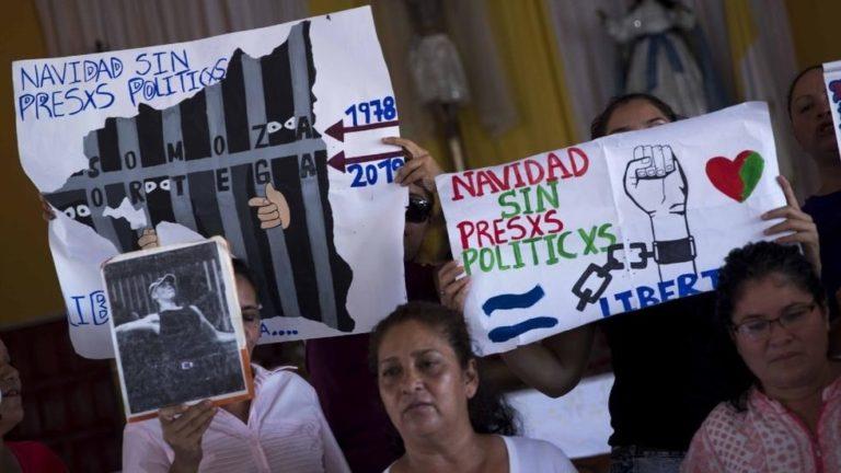 ¡Navidad sin presos políticos! Madres en huelga de hambre en Nicaragua