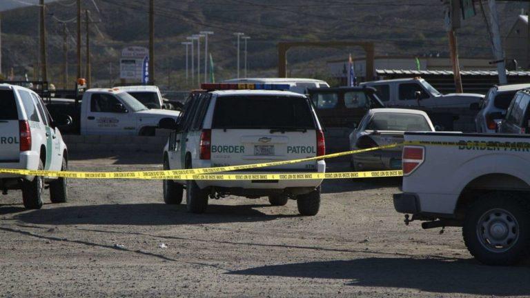 Agente de la Migra abatió a tirador en la frontera