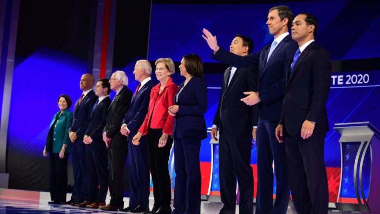 Debate: Candidatos intensifican lucha a 75 días de las primarias