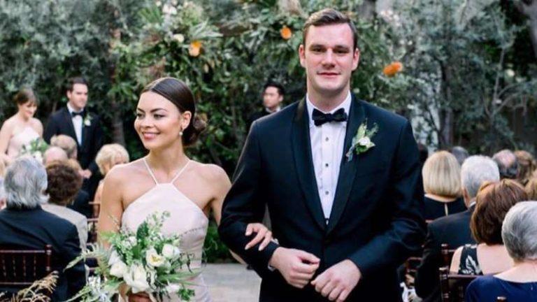Heredero de Playboy se casó con actriz de 'Harry Potter'