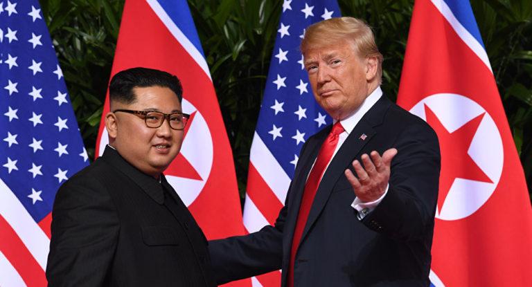 Trump listo para recibir regalo de Corea del Norte
