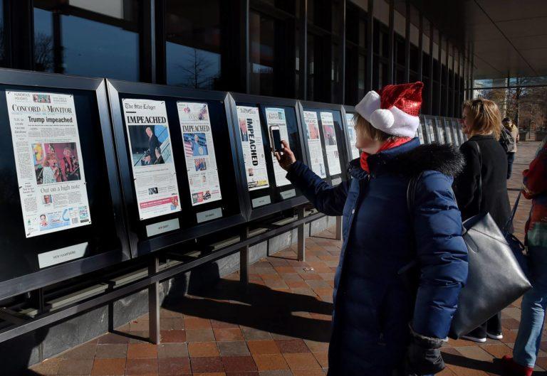 ¡Cierre! Museo de la Prensa de Washington en su última semana