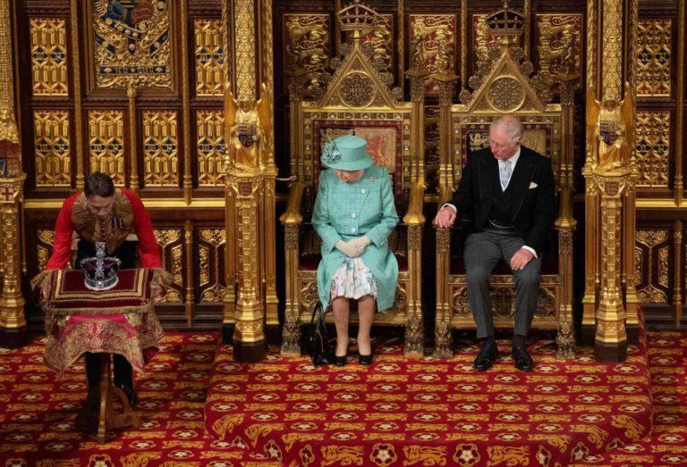 Apertura del Parlamento: Reina presentó plan de gobierno de Johnson