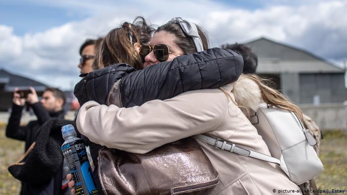 Hallan restos humanos en zona donde se perdió avión chileno