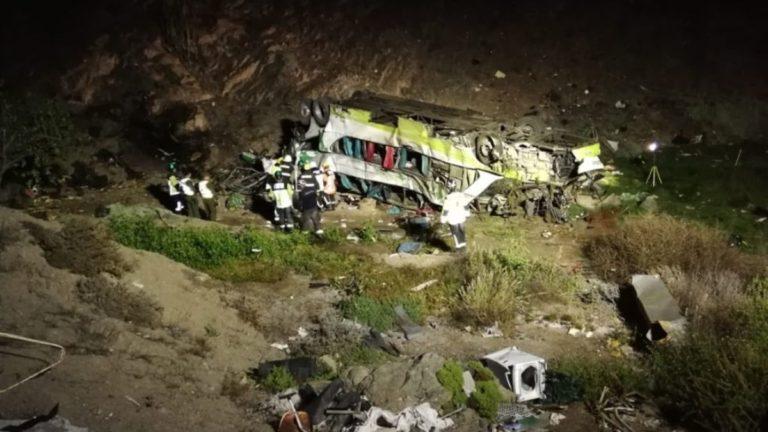 Accidente al centro de Chile deja 17 muertos