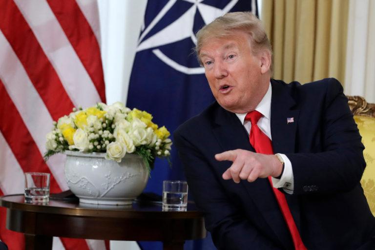 ¡Tensión! En antesala a la OTAN Trump critica a Macron