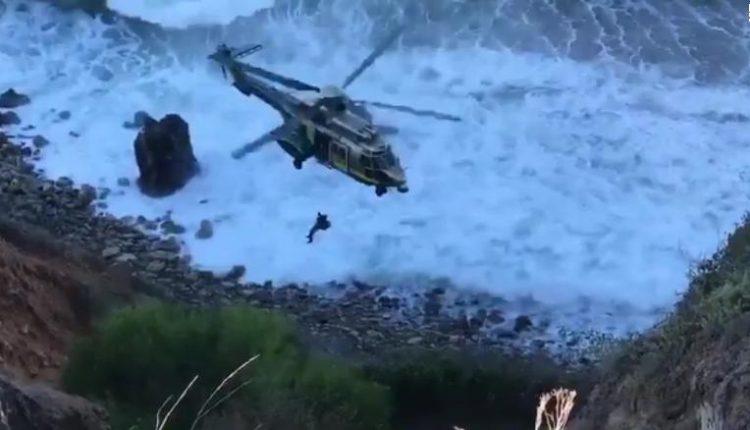 Cayó de acantilado en California y salió ilesa
