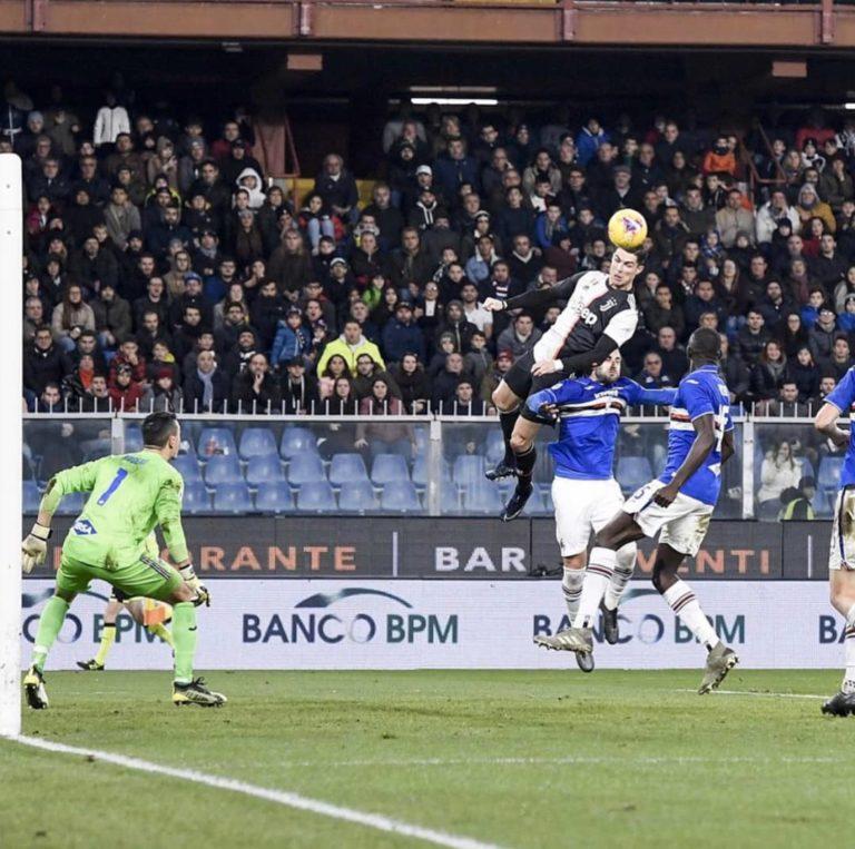 ¡Air CR7! El asombroso salto de Ronaldo para cabecear