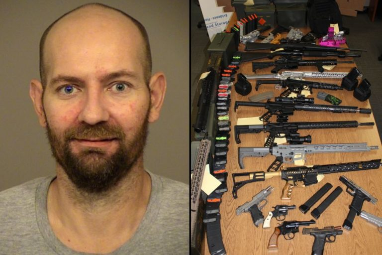 Incautan arsenal de armas en vivienda en California