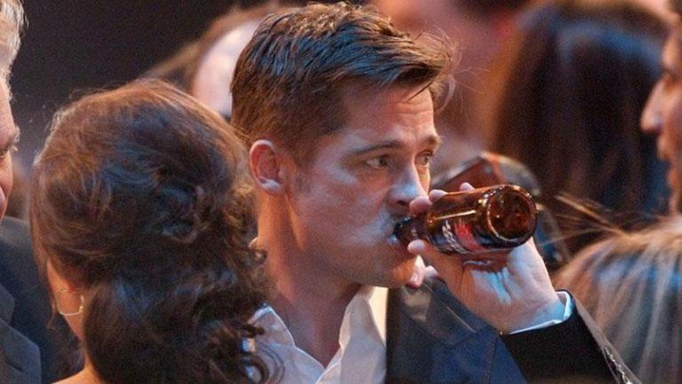 Brad Pitt habla de su relación con el alcohol