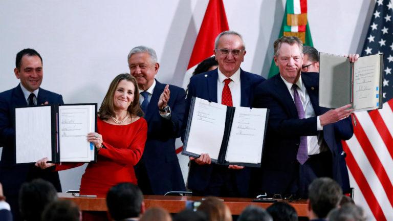 Trato comercial con EE.UU y Canadá le permite a México respirar