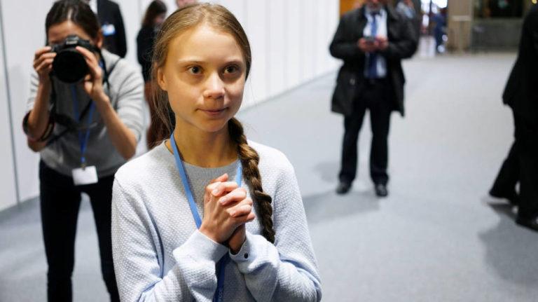 """Thunberg: La emergenciaclimática no """"es un problema futuro"""""""