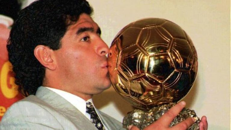 El día que la mafia robó el Balón de Oro de Maradona