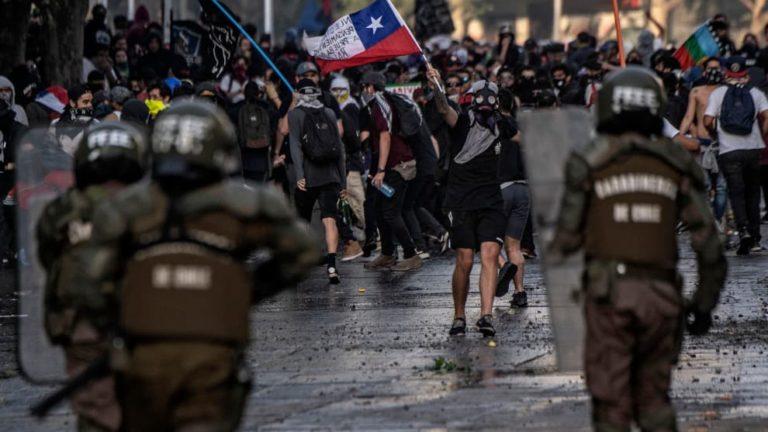 Chile: ONU alarmada por cantidad de heridos en cara y ojos