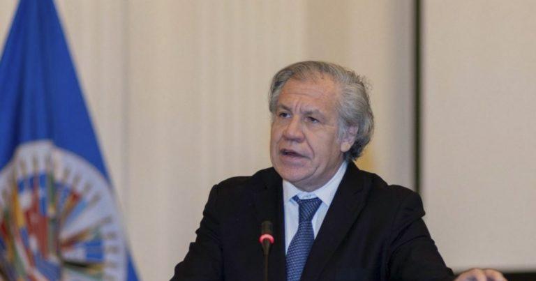 Almagro se solidariza con presos políticos cubanos