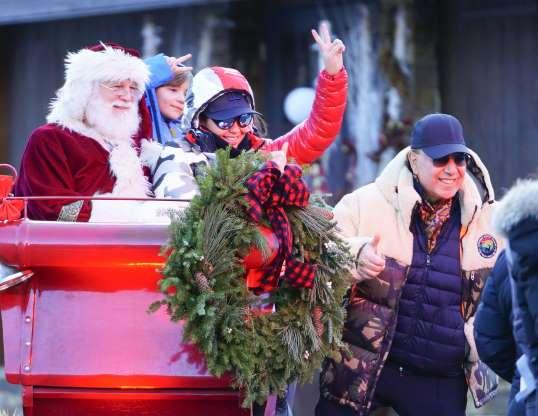 ¡Vacaciones de Navidad! Thalía y su familia disfrutan en Aspen