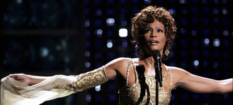 Whitney Houston al Salón de la Fama del Rock and Roll
